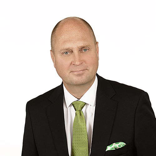 Kuvassa OmaSp:n digitaalisten palveluiden johtaja Ville Rissanen