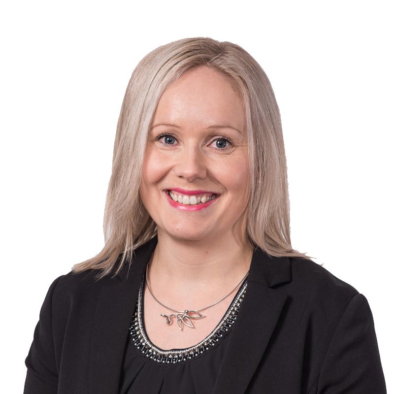 Kuvassa OmaSp:n talous- ja hallintojohtaja Sarianna Liiri